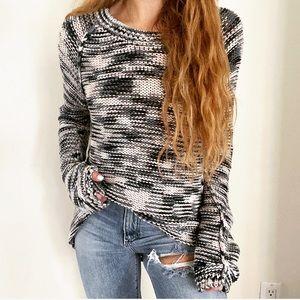 Rebecca Taylor Cotton Knit Cozy Sweater